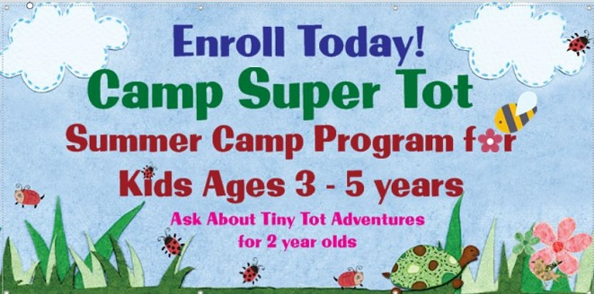 Camp For Tots!